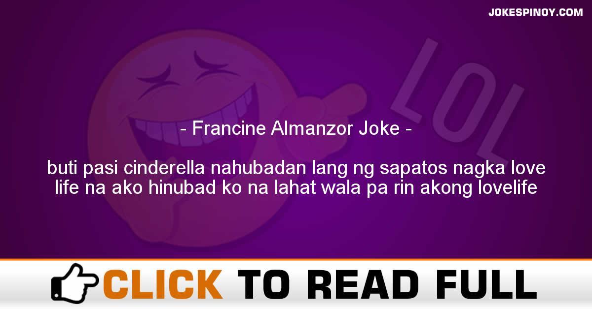 Francine Almanzor Joke