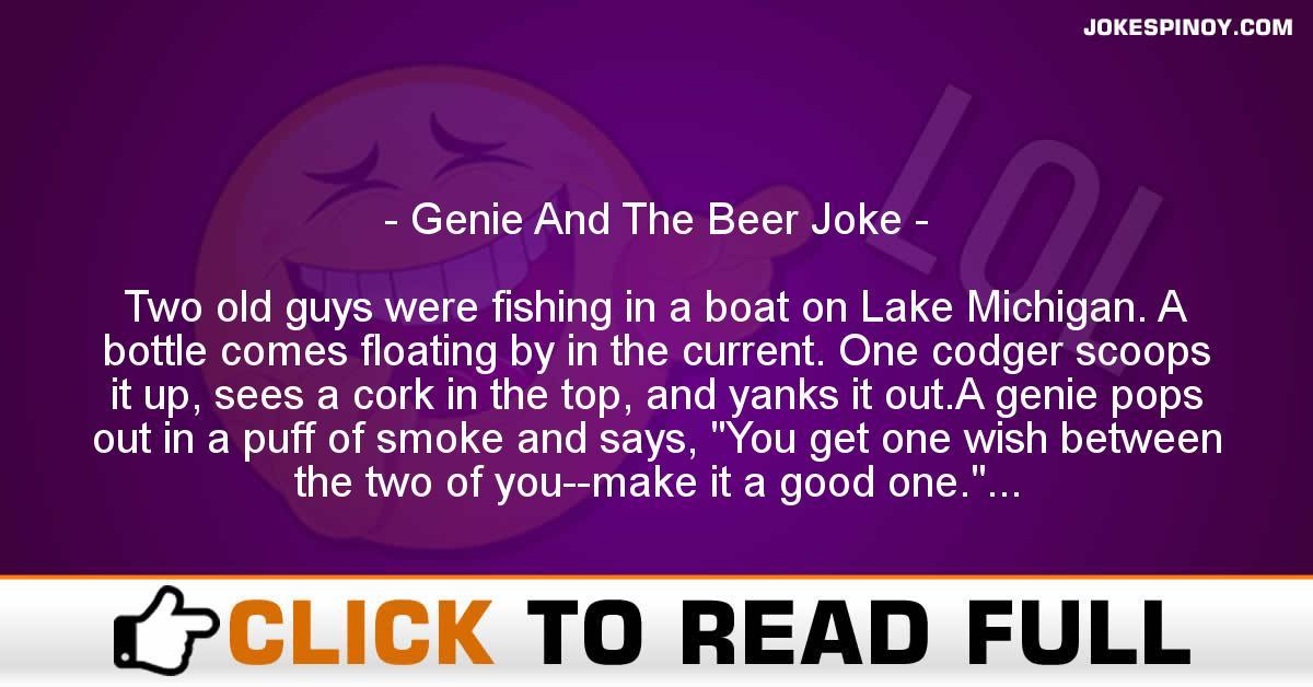 Genie And The Beer Joke
