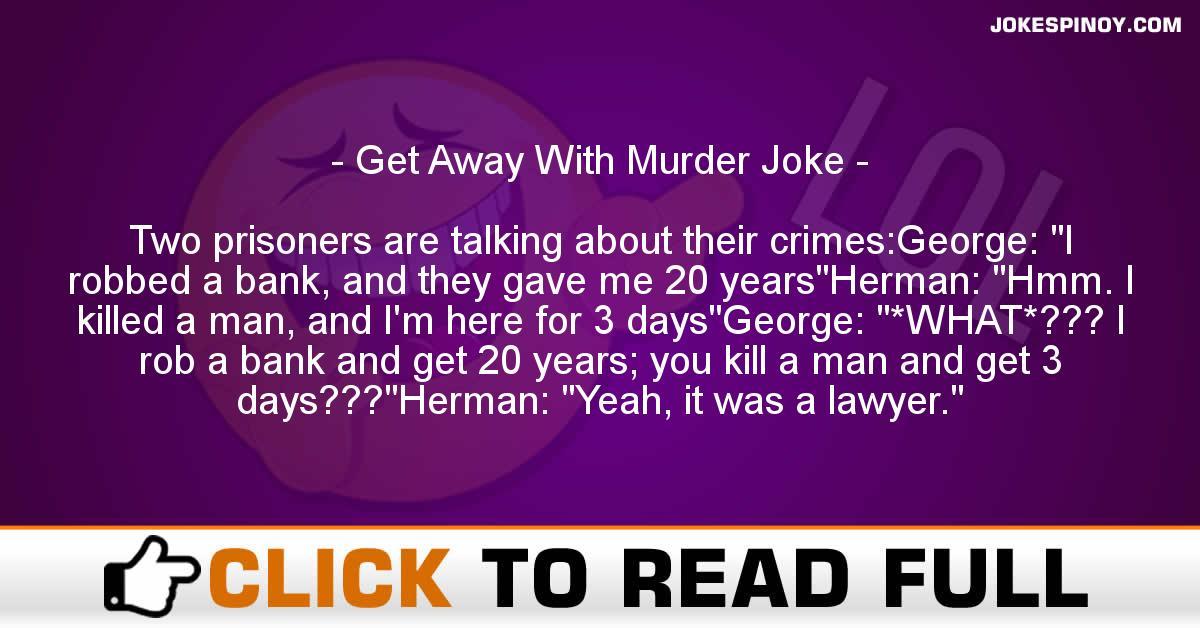 Get Away With Murder Joke