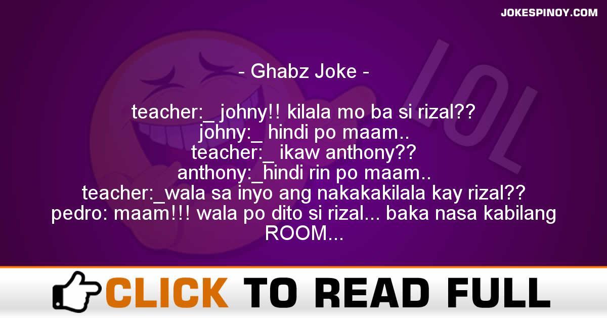 Ghabz Joke