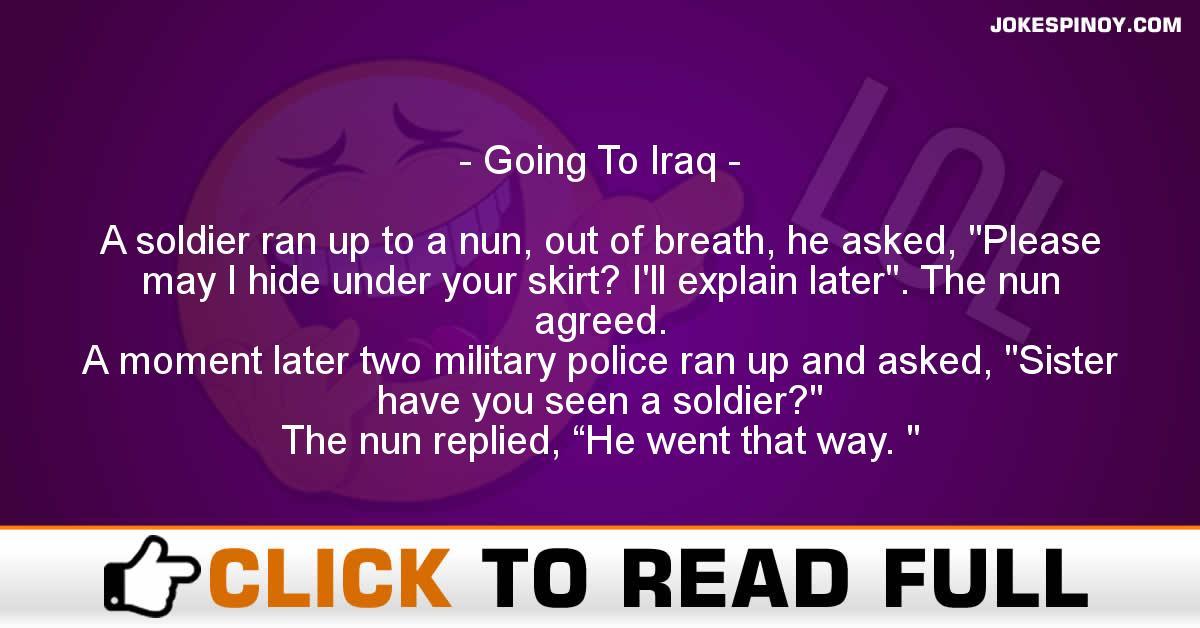 Going To Iraq