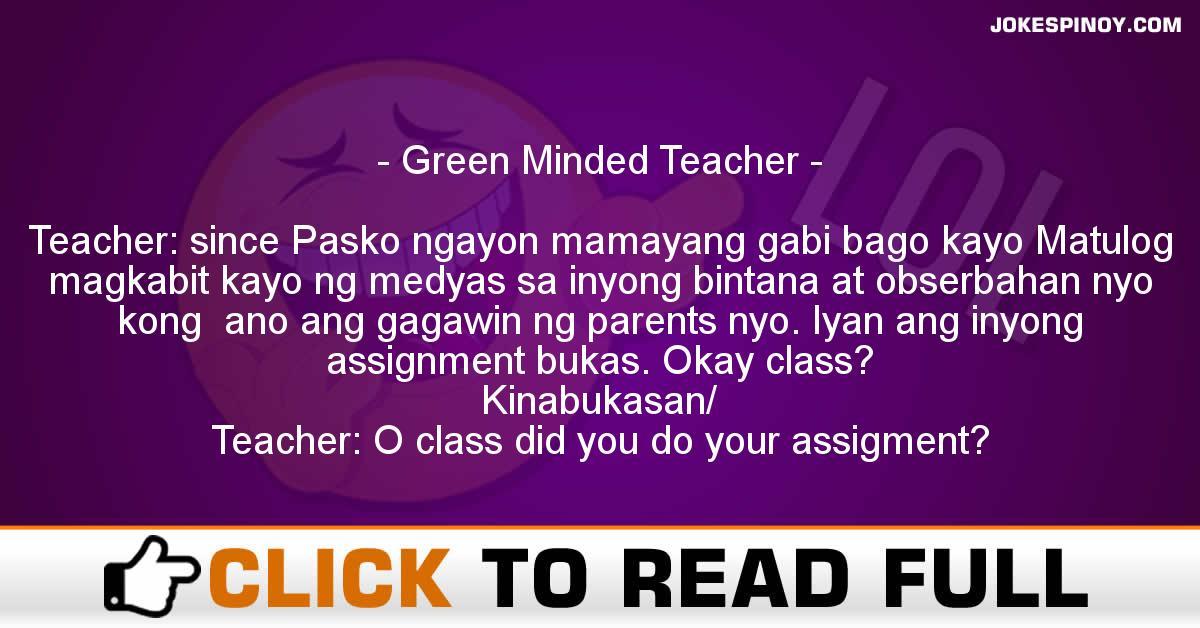 Green Minded Teacher