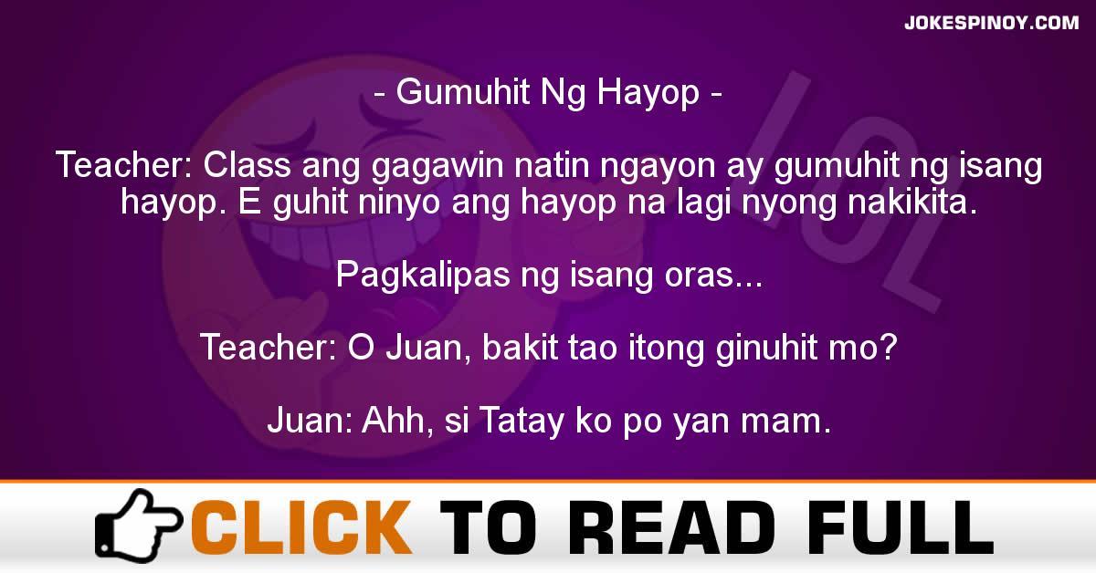 Gumuhit Ng Hayop
