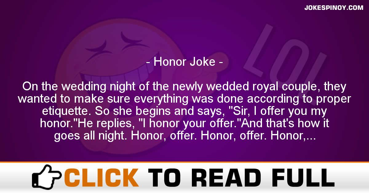 Honor Joke