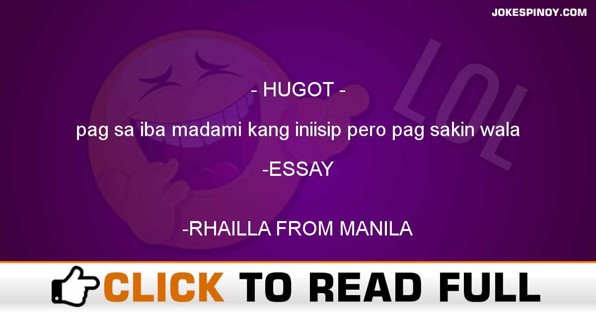 hugot essay tagalog
