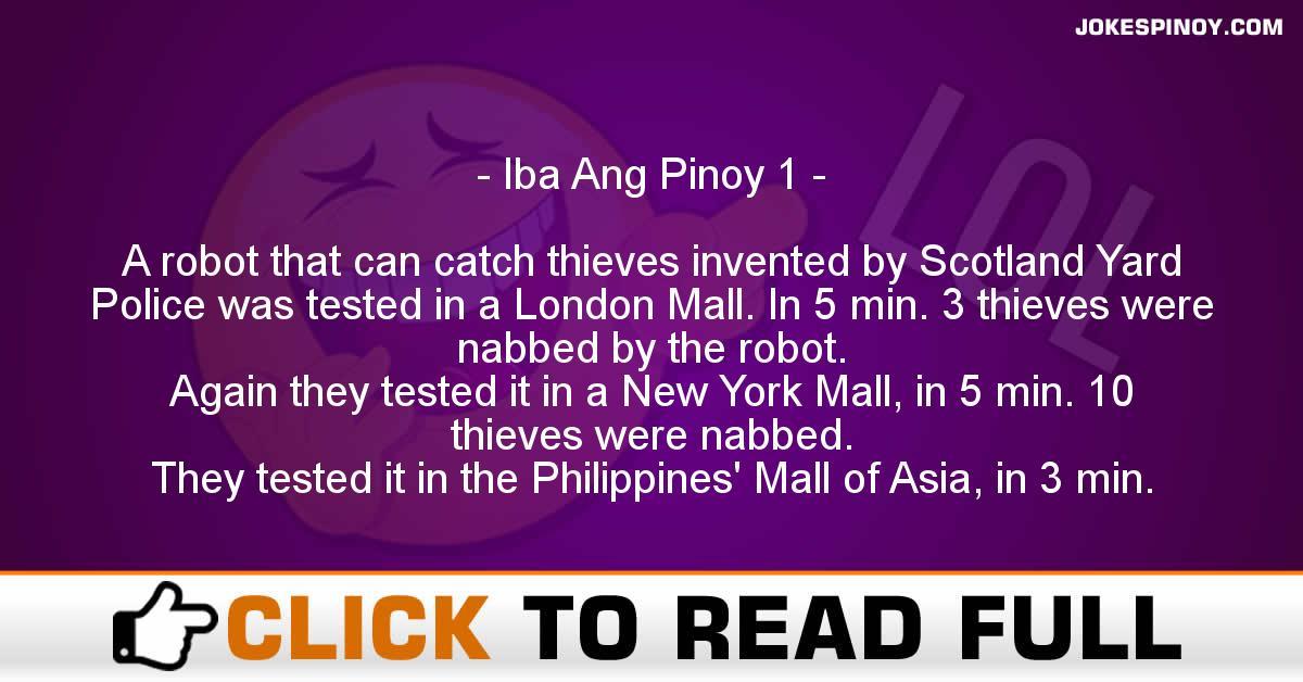Iba Ang Pinoy 1