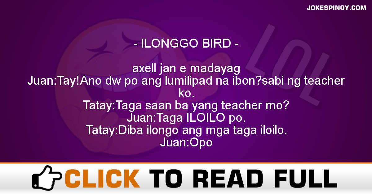 ILONGGO BIRD