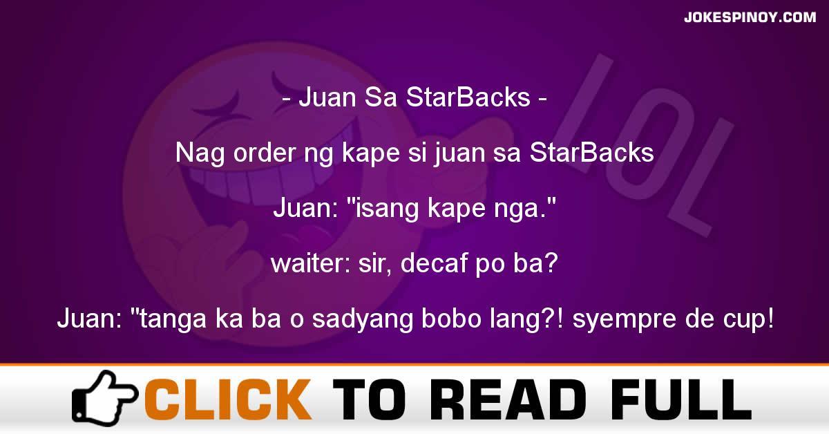 Juan Sa StarBacks