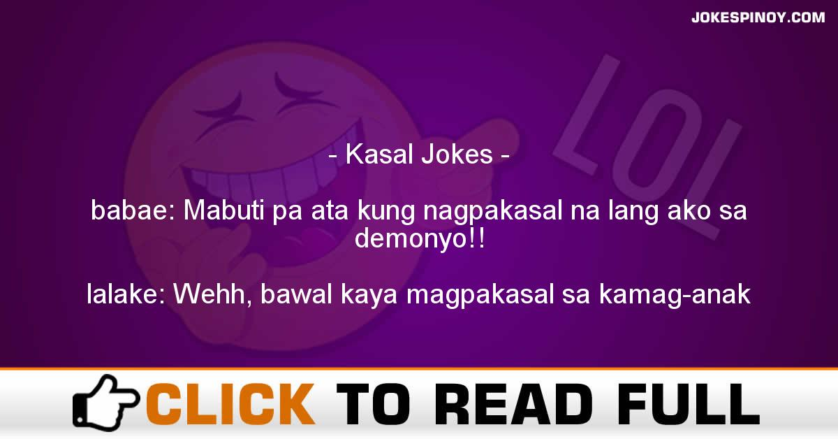 Kasal Jokes