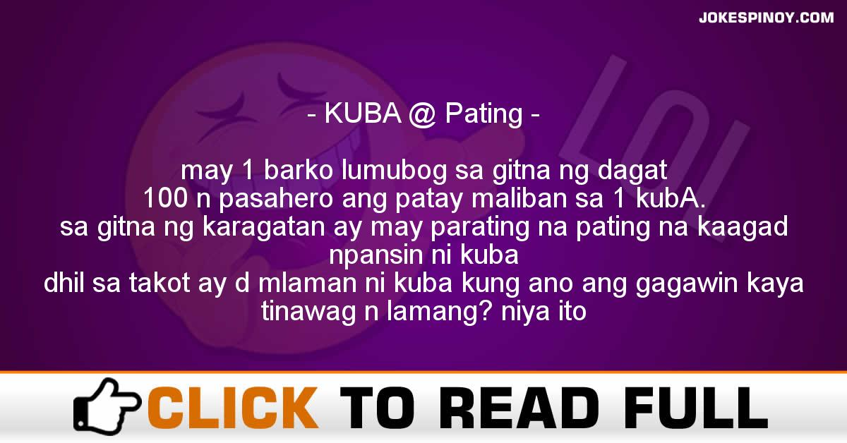 KUBA @ Pating