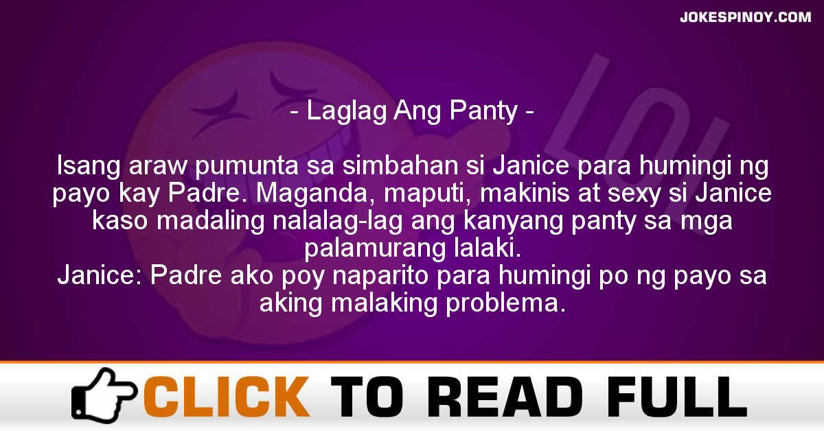 Laglag Ang Panty
