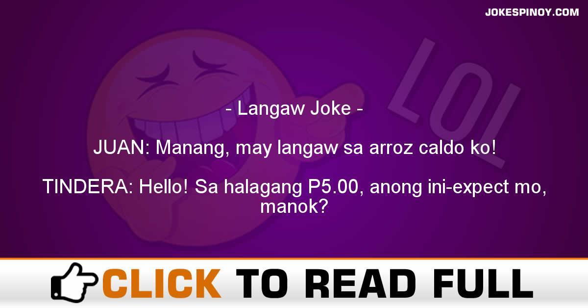 Langaw Joke