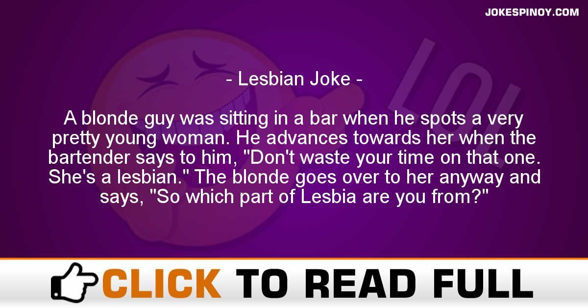 Lesbian Joke
