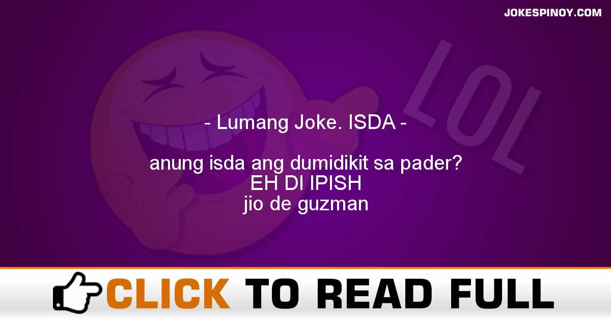 Lumang Joke. ISDA