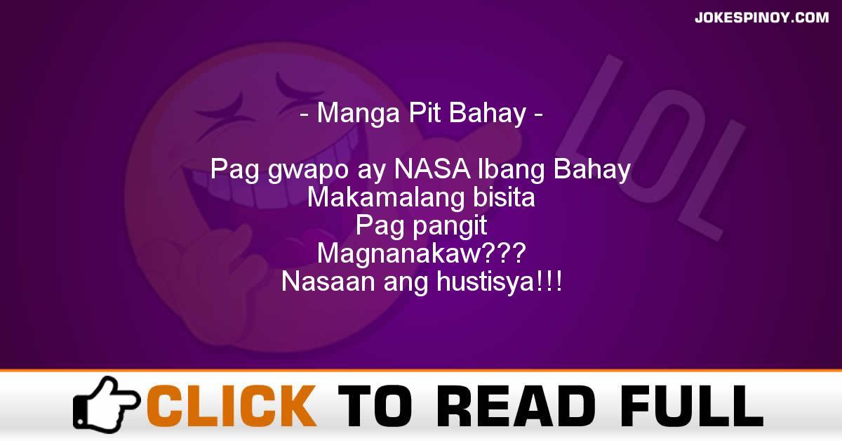Manga Pit Bahay