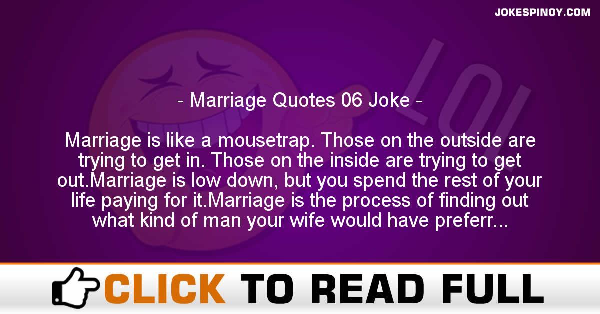 Marriage Quotes 06 Joke