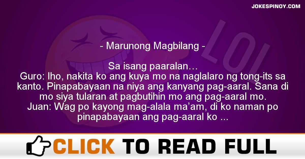 Marunong Magbilang
