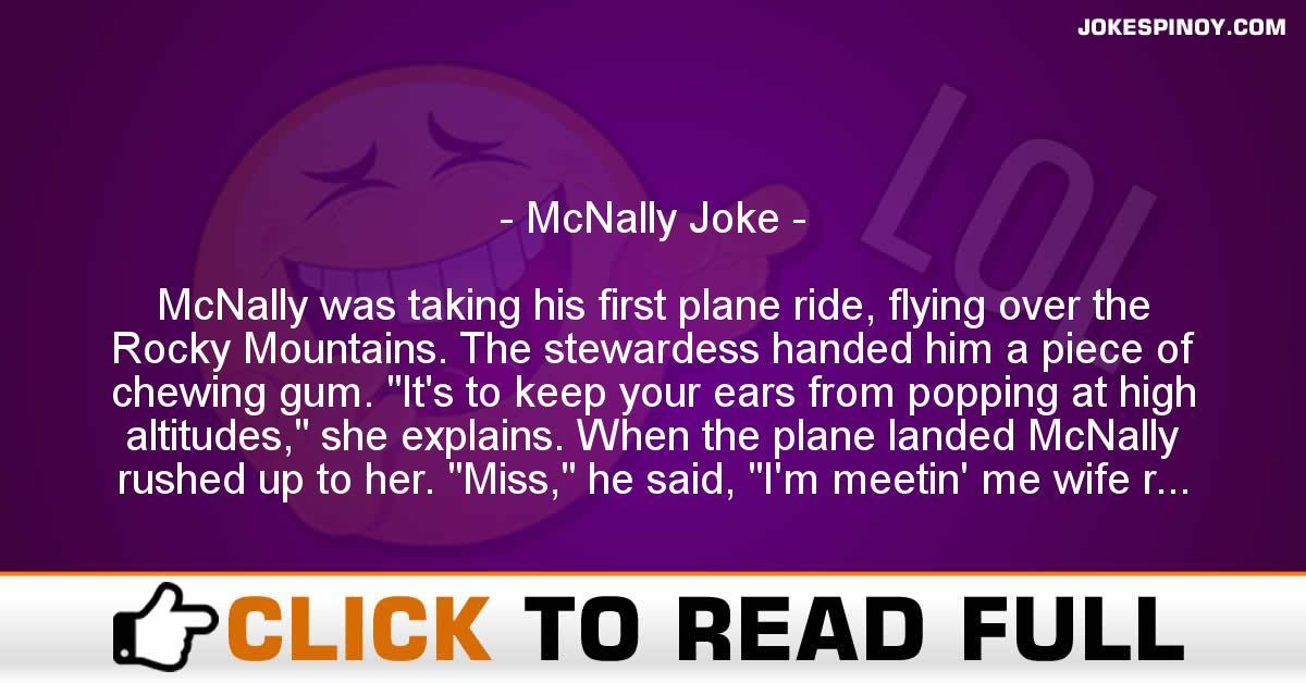 McNally Joke