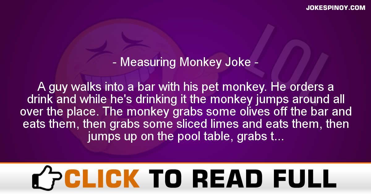 Measuring Monkey Joke
