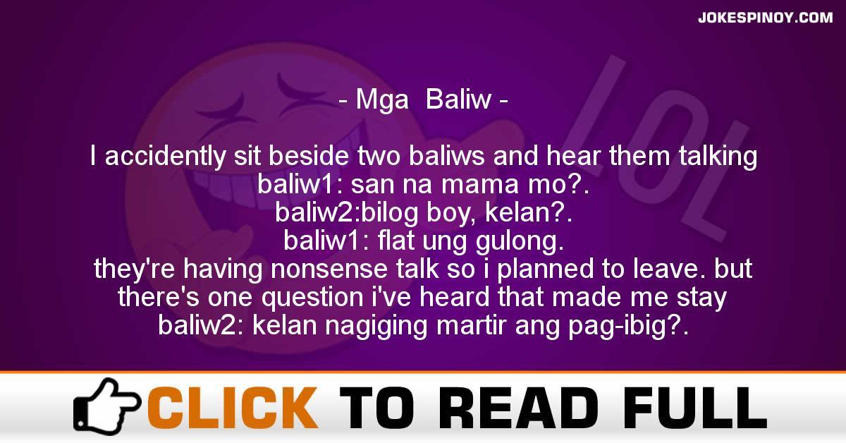 Mga  Baliw