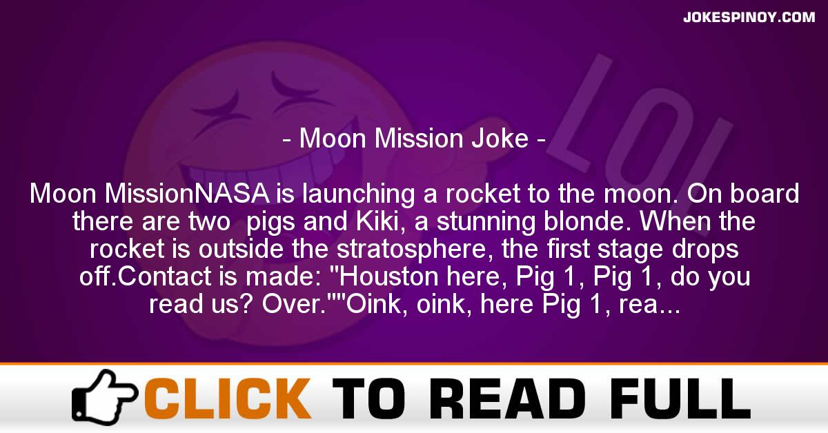 Moon Mission Joke