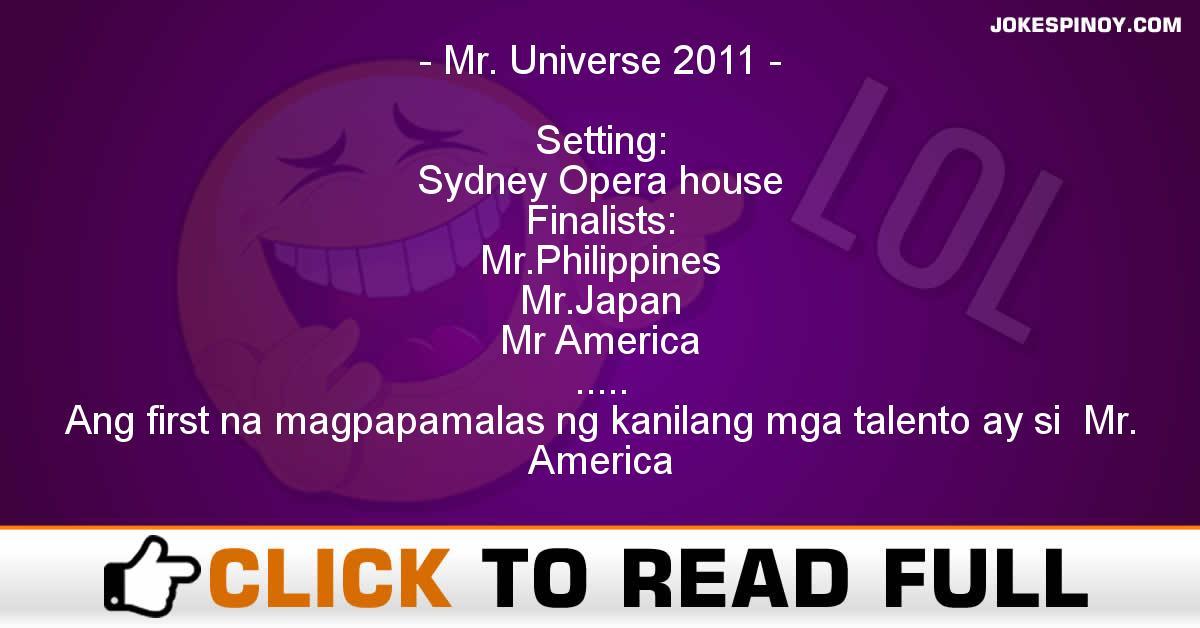 Mr. Universe 2011
