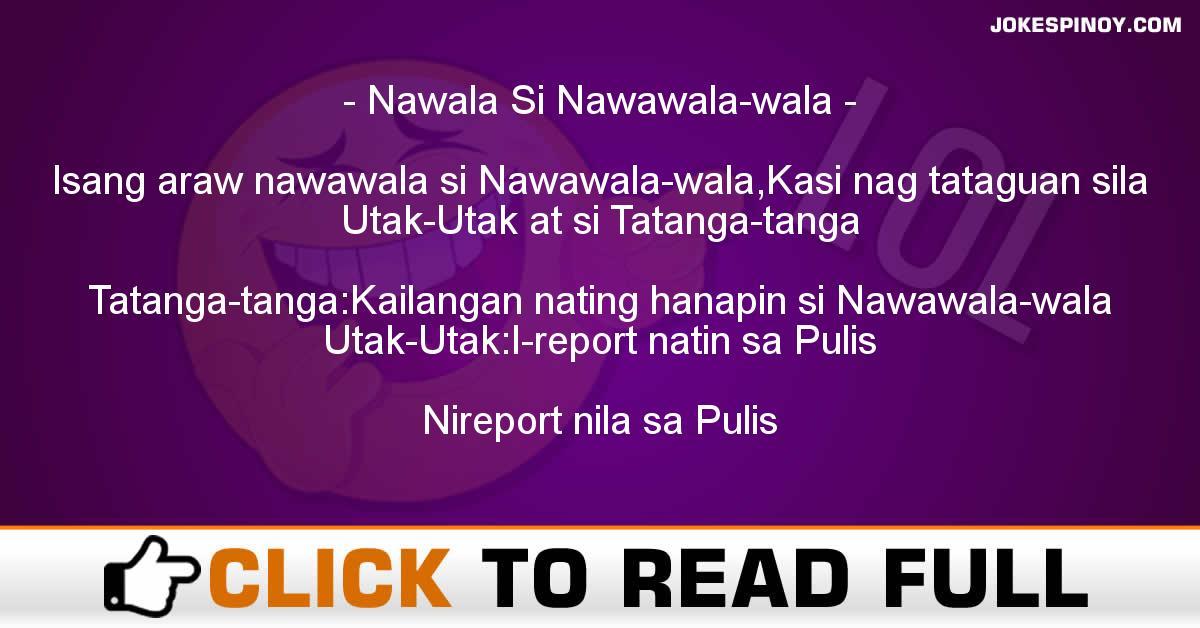 Nawala Si Nawawala-wala