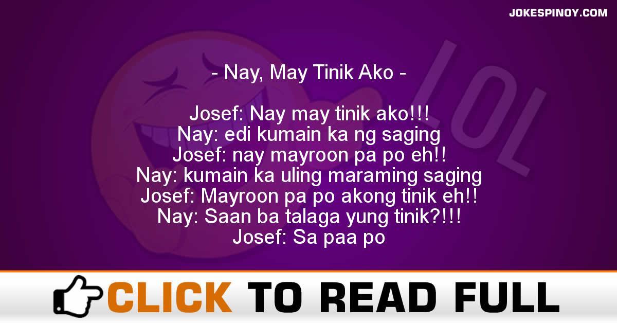 Nay, May Tinik Ako