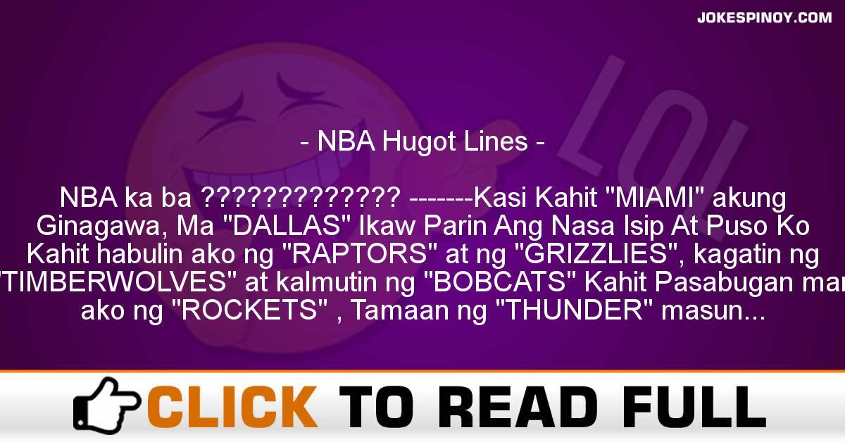 NBA Hugot Lines