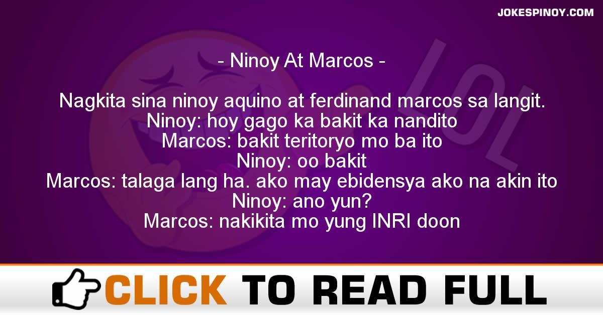 Ninoy At Marcos