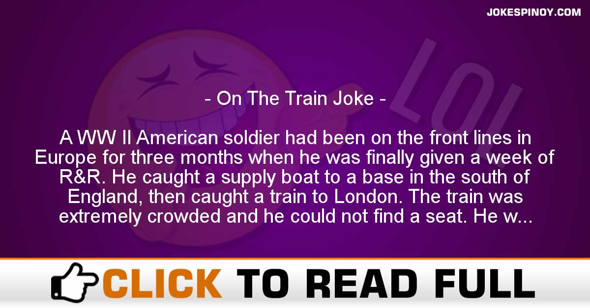 On The Train Joke