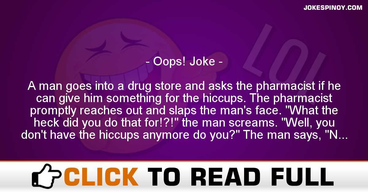 Oops! Joke