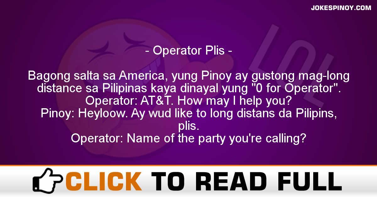 Operator Plis