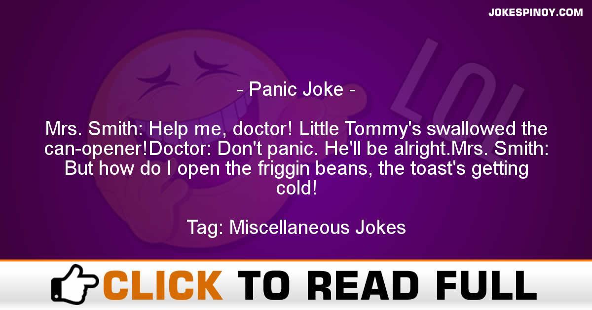 Panic Joke