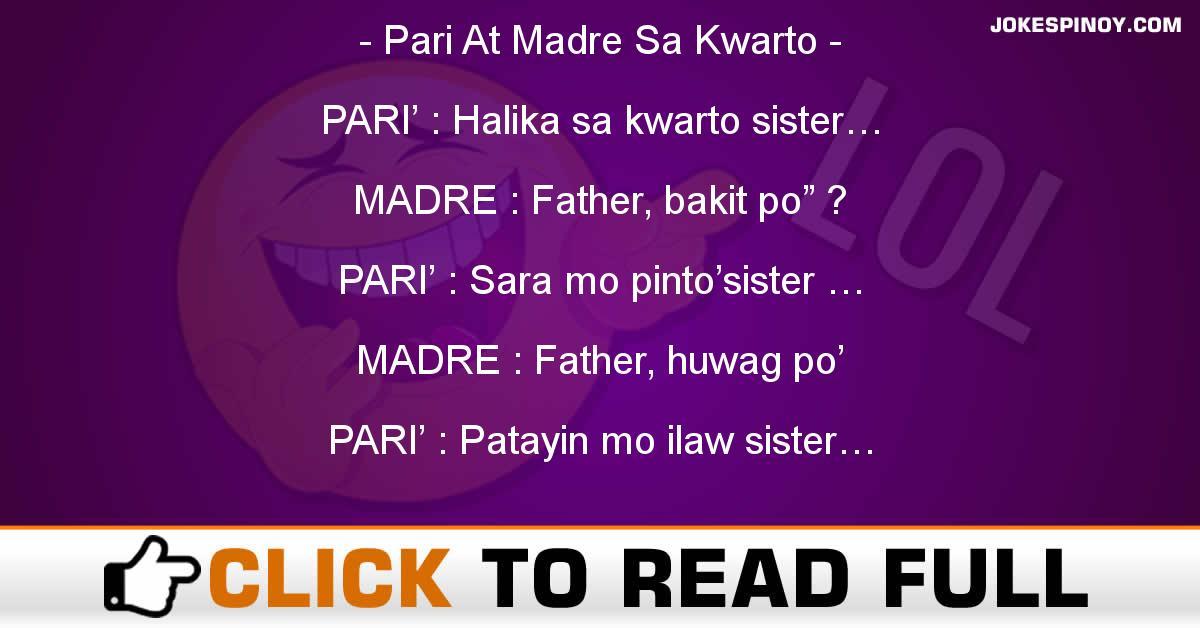 Pari At Madre Sa Kwarto