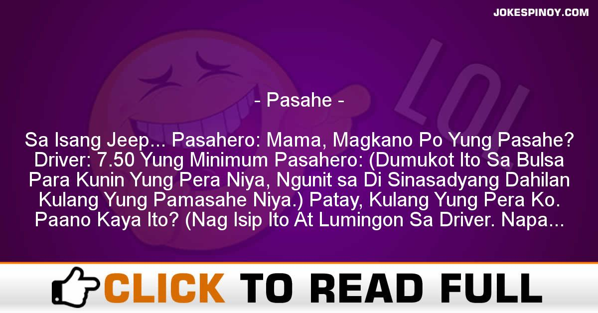Pasahe