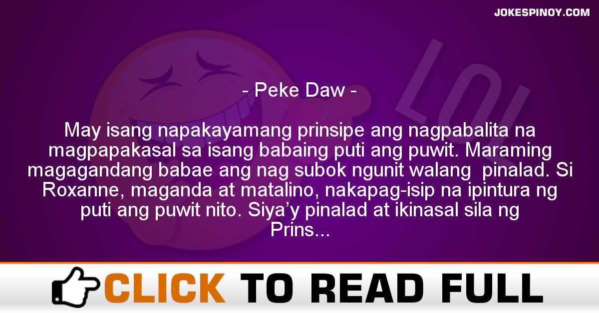 Peke Daw