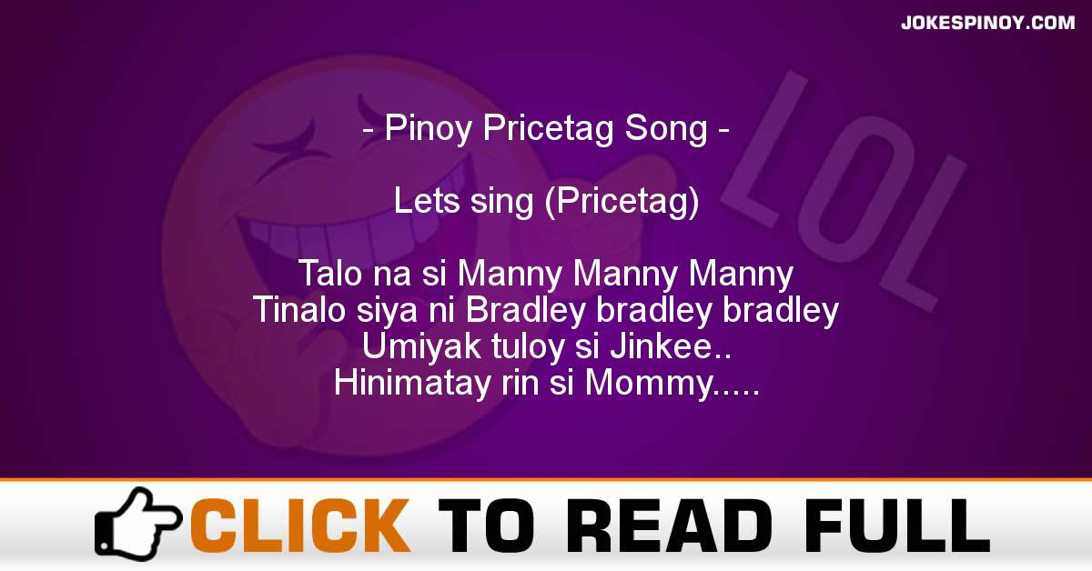 Pinoy Pricetag Song