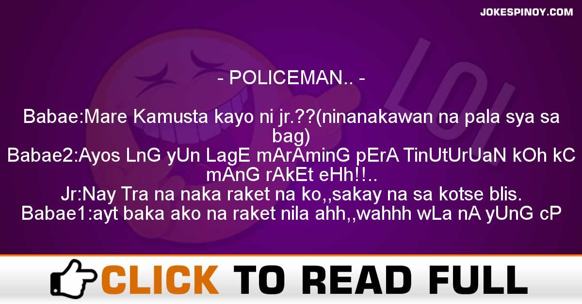 POLICEMAN..