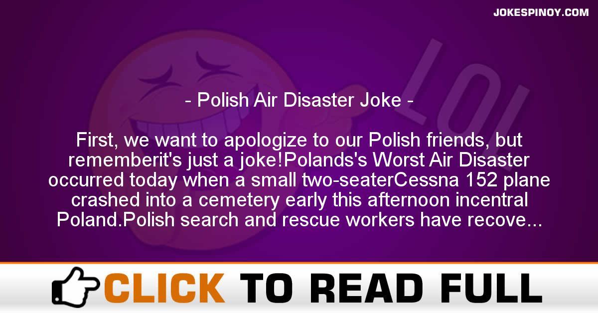 Polish Air Disaster Joke