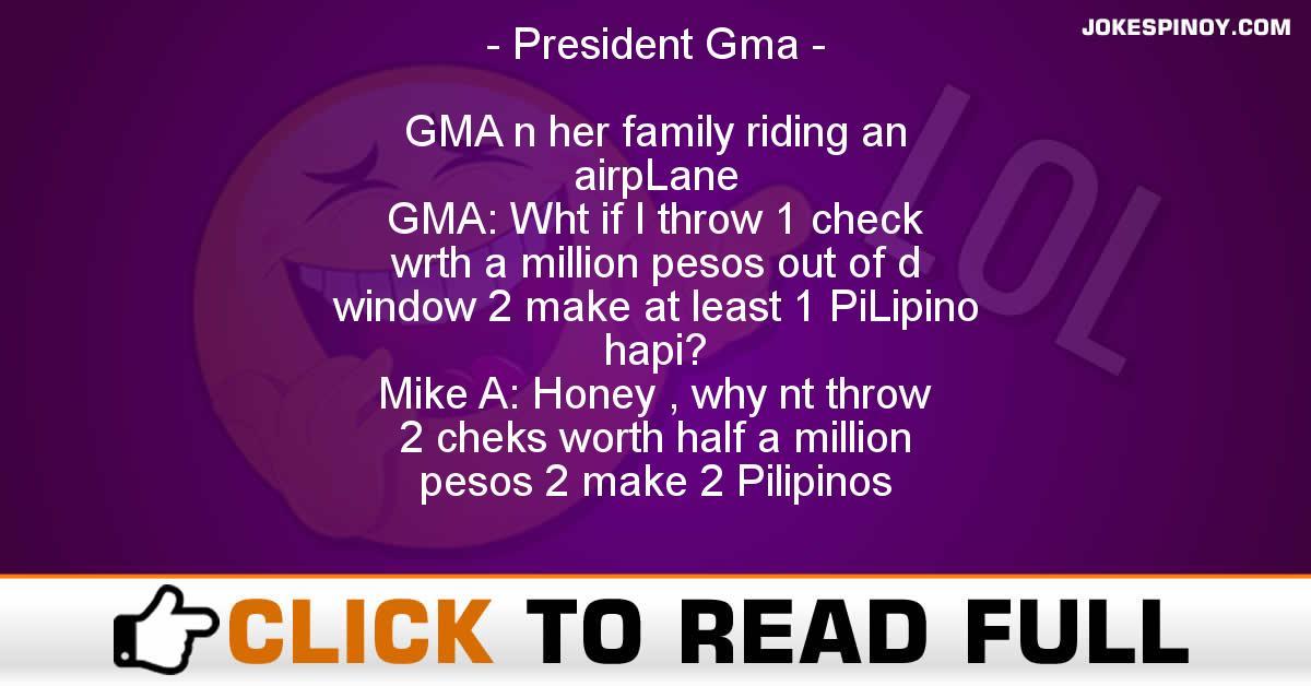 President Gma