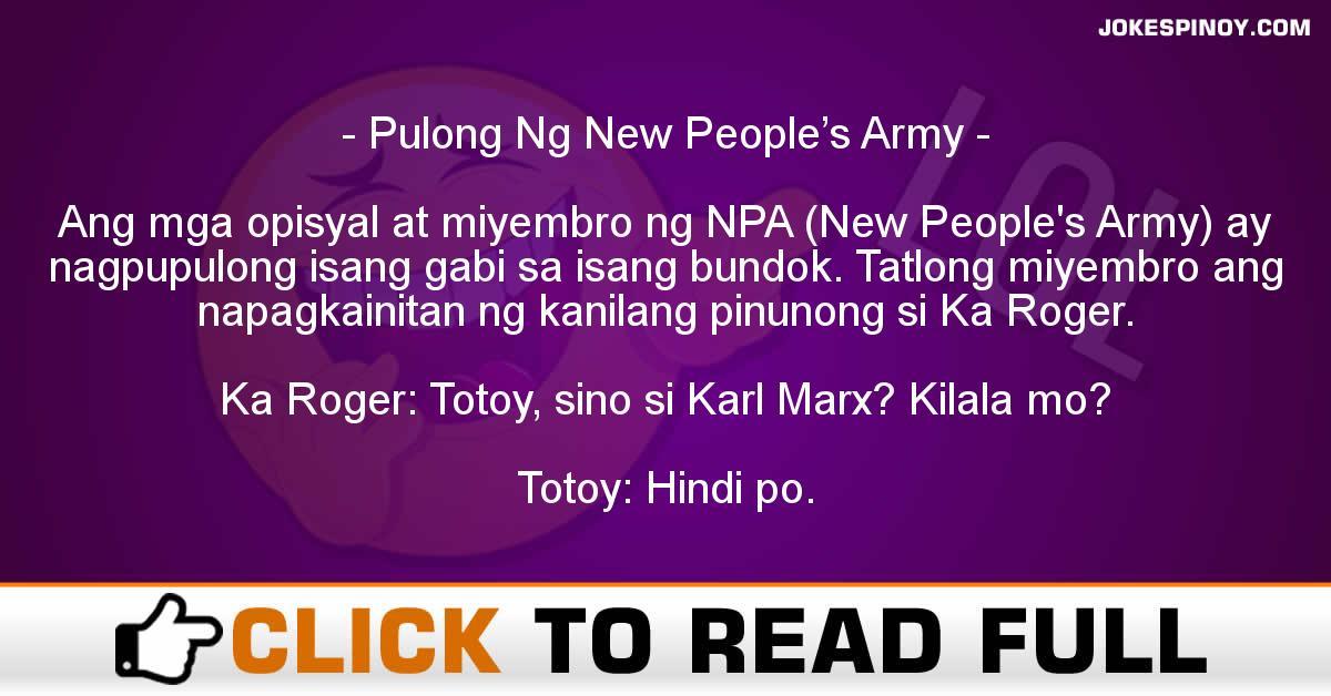 Pulong Ng New People's Army