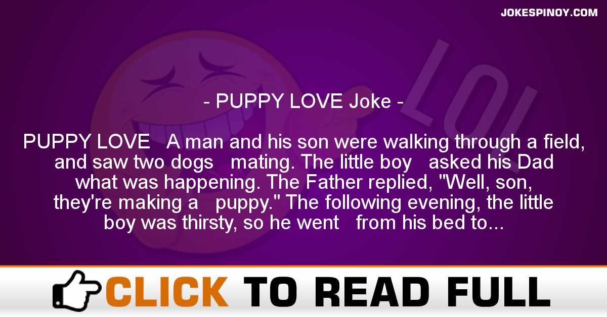 PUPPY LOVE Joke