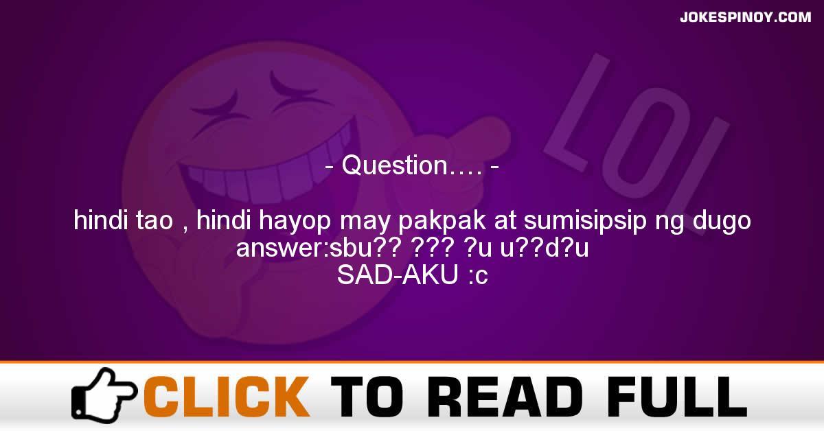 Question….