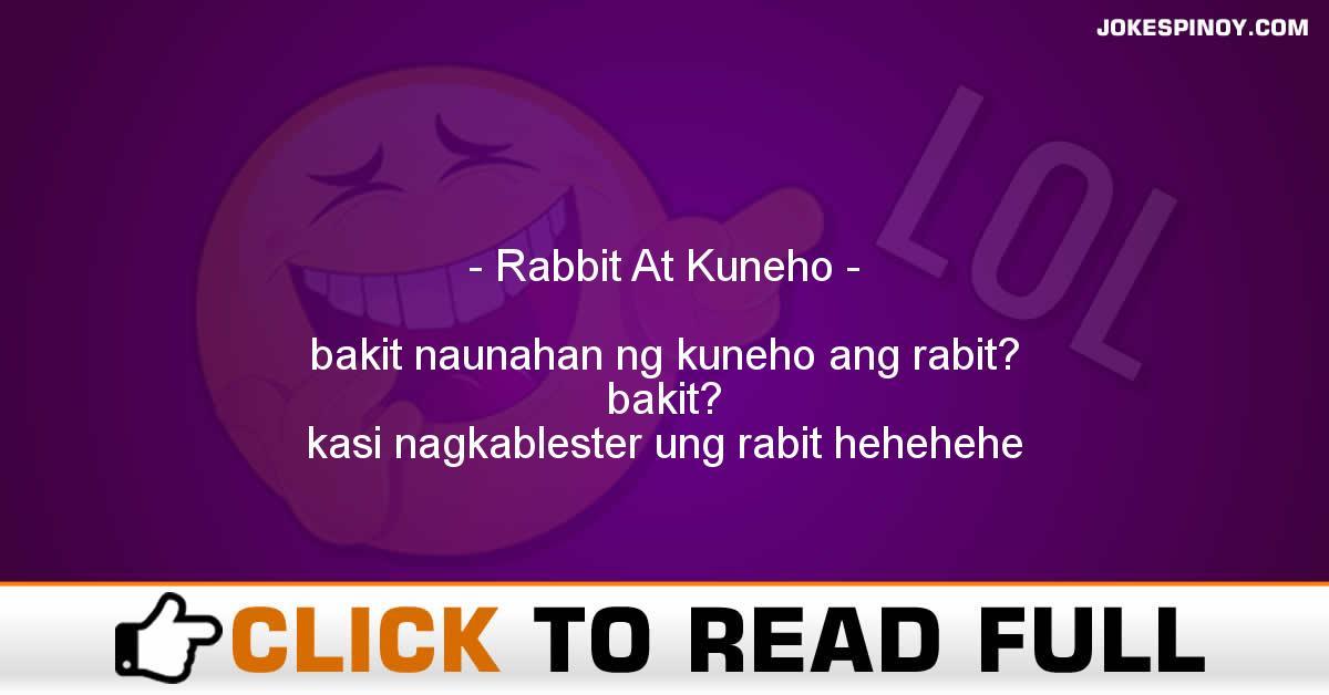 Rabbit At Kuneho
