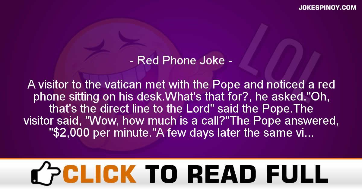 Red Phone Joke