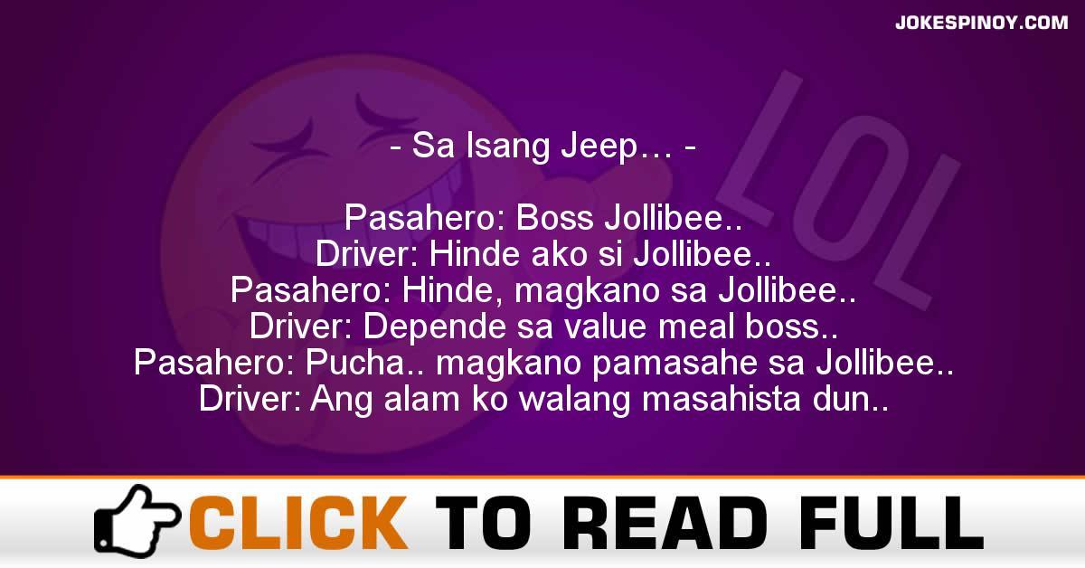 Sa Isang Jeep…