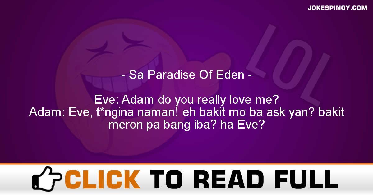 Sa Paradise Of Eden