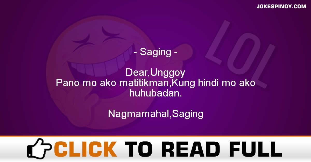 Saging