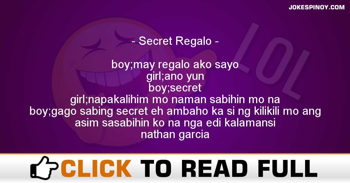 Secret Regalo